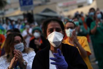 España marca nuevo repunte de muertes por coronavirus
