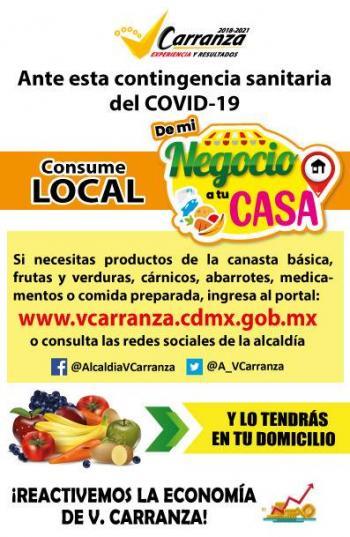 Alcaldía Venustiano Carranza apoyará a pequeños comerciantes