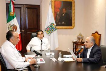 Proyectos de inversión en Puebla no se retrasarán ni detendrán: Barbosa