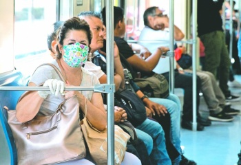 """""""El coronavirus también viaja en los medios de transporte"""""""