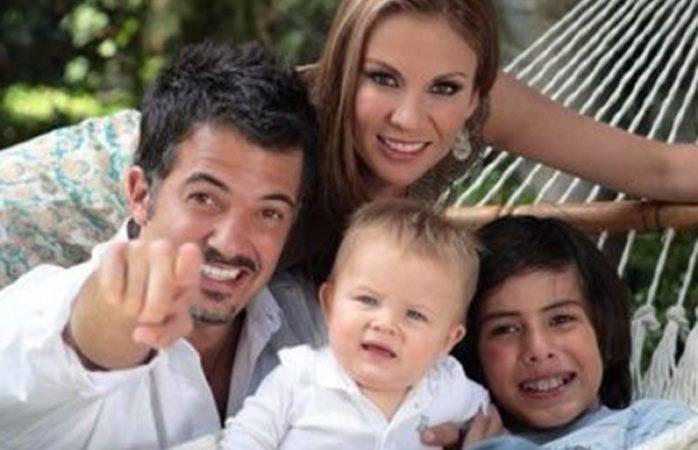 Con sarampión los hijos de Ingrid Coronado y Fernando del Solar