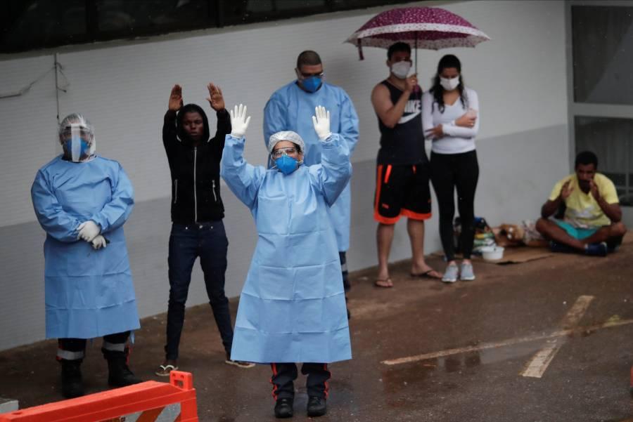 Brasil reporta 800 muertos por coronavirus