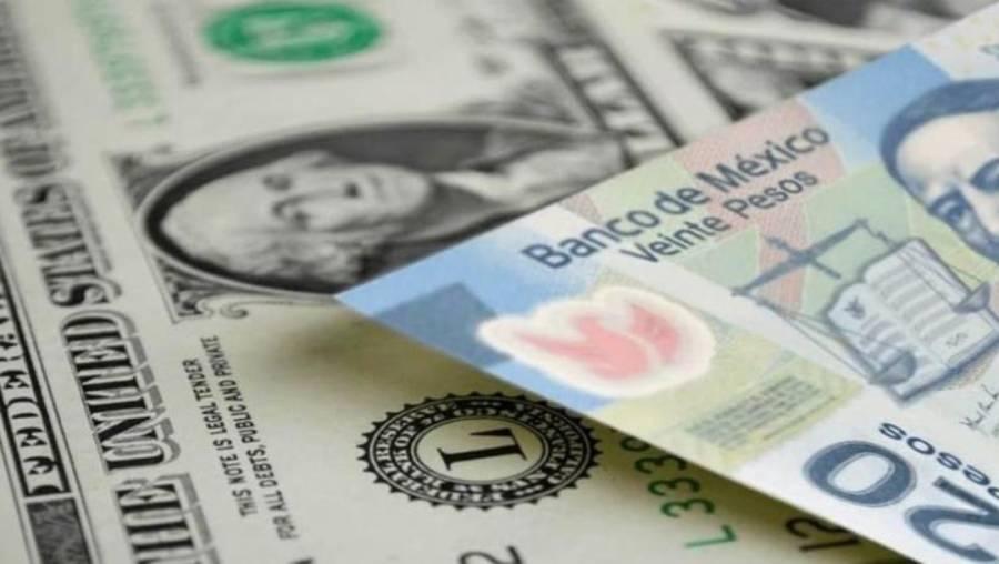 Peso pierde 22 centavos; se negocia en 24.33 por dólar