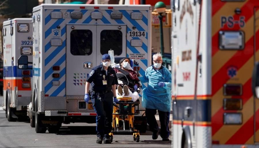 Supera 14 mil el número de fallecimientos por Covid-19 en EE UU