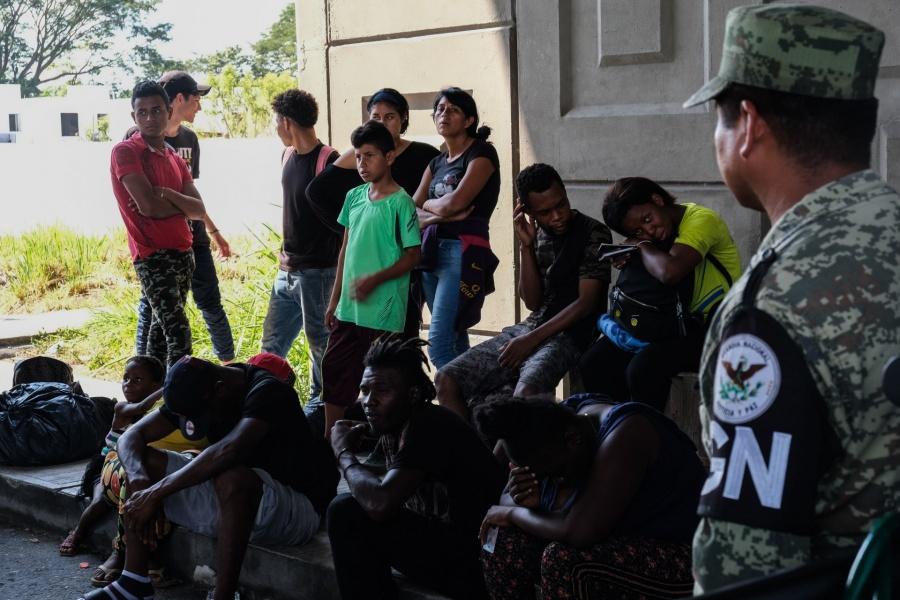Covid frena deportación de migrantes en Chiapas