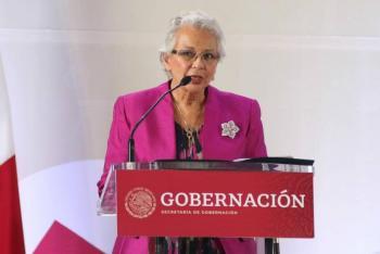 Dialogan Sánchez Cordero y gobernadores del occidente por pandemia