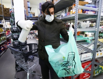 Contra pandemia urgen uso de bolsas de plástico