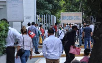 Enfermeros del Hospital 1º de Octubre denuncian carencia de material ante emergencia