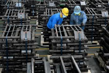 Se desploma 3.5% la industria de México