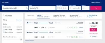 México-Madrid, última oportunidad en abril, ofrece Aeroméxico