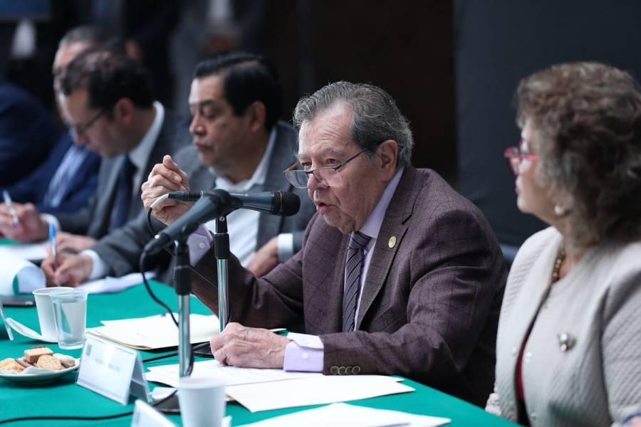 """""""Propongo la reconstrucción de las instituciones locales, nacionales y globales"""": Muñoz Ledo"""