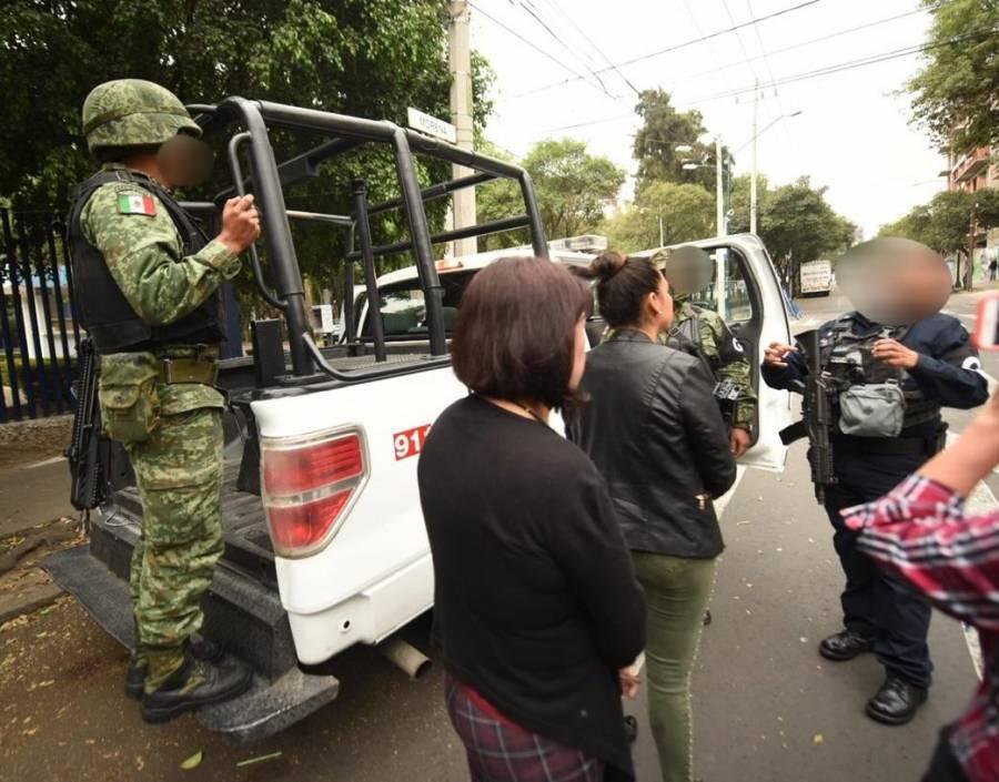 Denuncia SUTNOTIMEX uso de Guardia Nacional para amedrentar a huelguistas