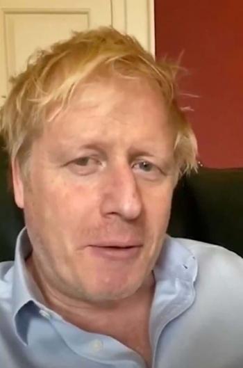 Boris Johnson, el escéptico  que cayó en manos del Covid