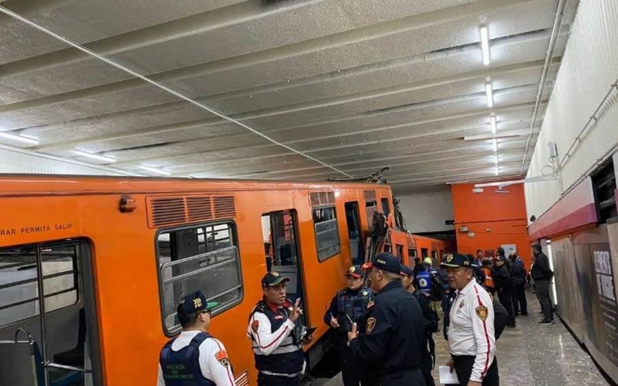 Cumplimentan órdenes de aprensión contra dos responsables de choque del Metro