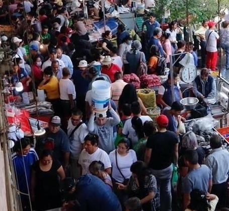 Limitan acceso a la Nueva Viga por alta afluencia de personas