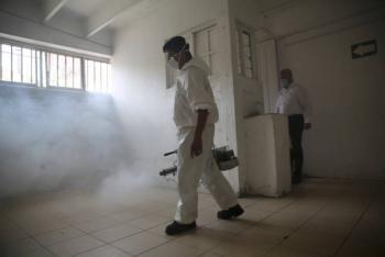 100% de Centros Penitenciarios sanitizados por Covid-19