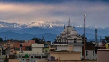 Desde India se ve el Himalaya; confinamiento reduce la contaminación