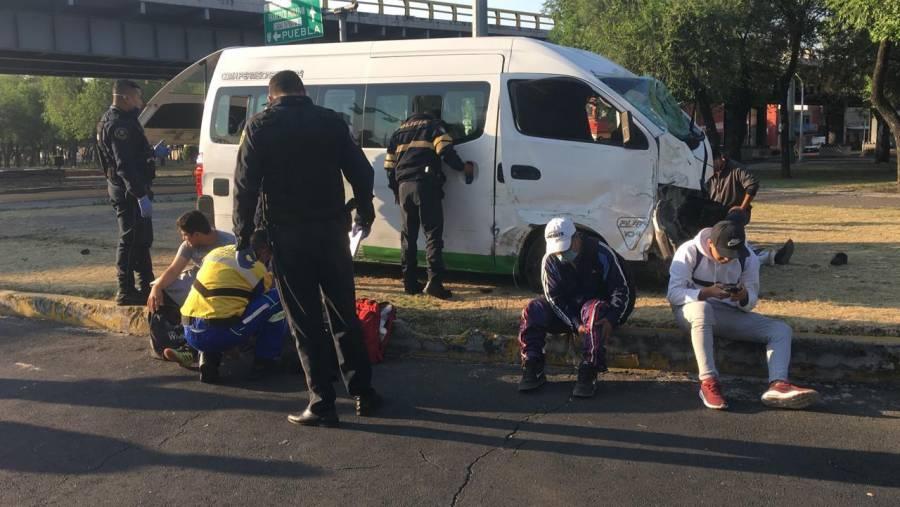 Accidente en Zaragoza deja 14 heridos