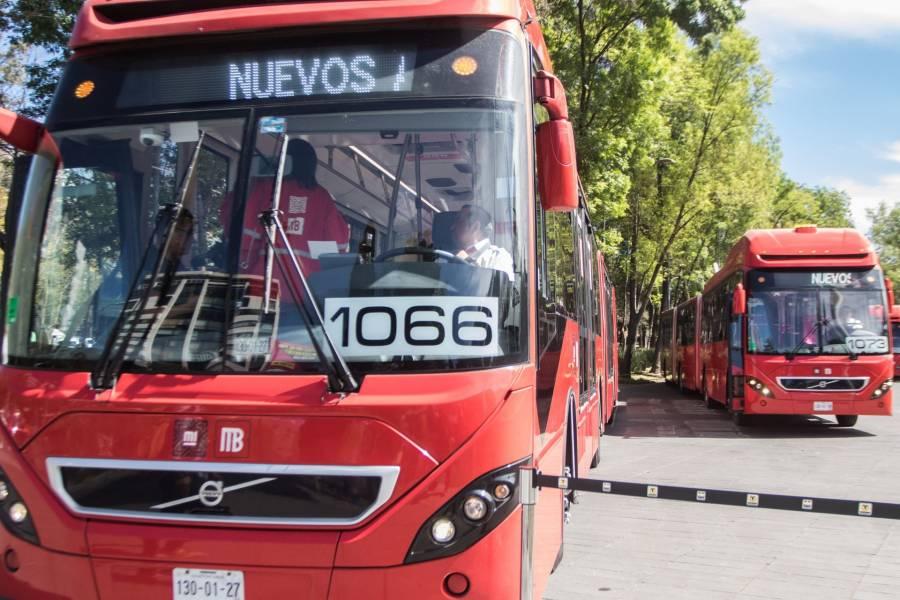 Habrá cierres parciales por mantenimiento en la Linea 1 del Metrobús