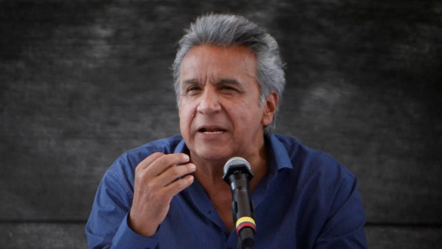 Presidente de Ecuador reducirá la mitad de su salario tras pandemia