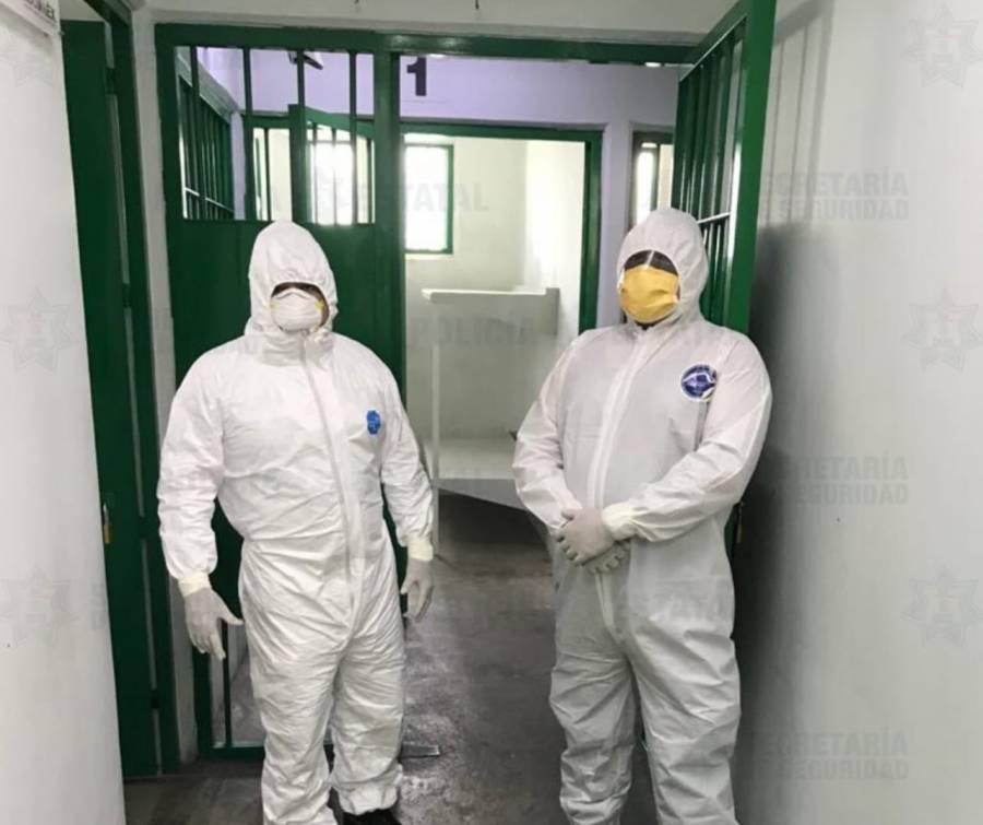 Hay 5 infectados de Covid-19 en cárcel de Cuautitlán