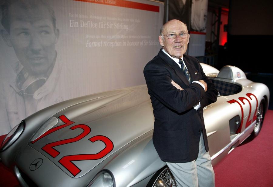 Stirling Moss, la sombra de Fangio deja legado de 16 victorias
