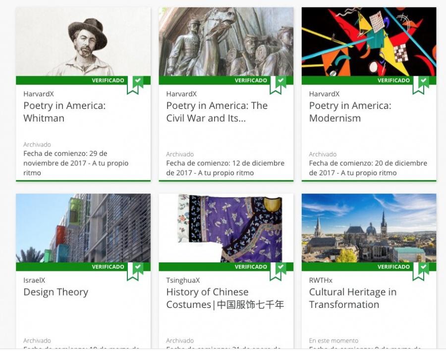 Harvard ofrece 67 cursos online 100% gratis