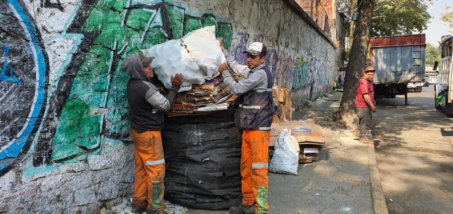 Van por proteger a trabajadores de limpia anteCovid