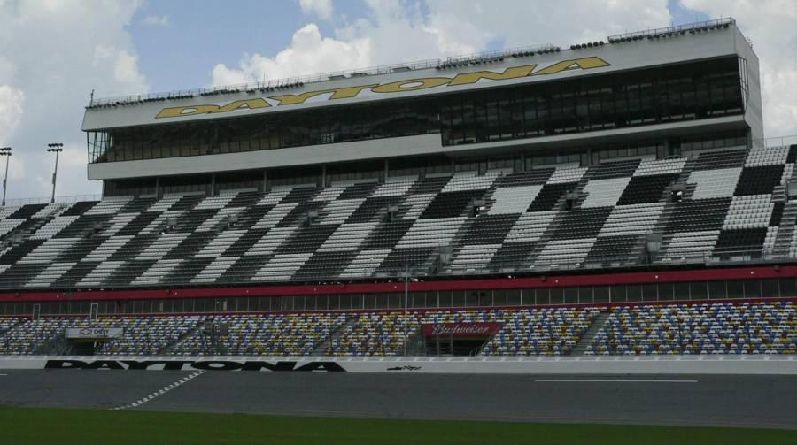Autódromo de Daytona se transforma en sitio de pruebas de coronavirus