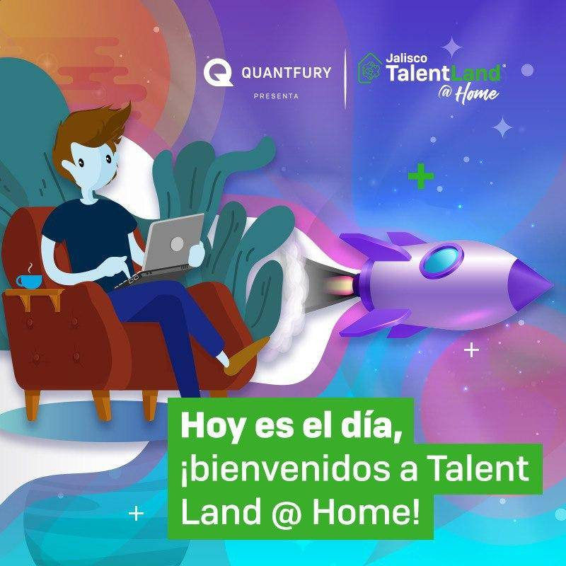 Talent Land @Home: conferencias y talleres gratis en línea