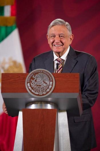 """""""Nos fue requetebién"""" en acuerdo con la OPEP+: López Obrador"""