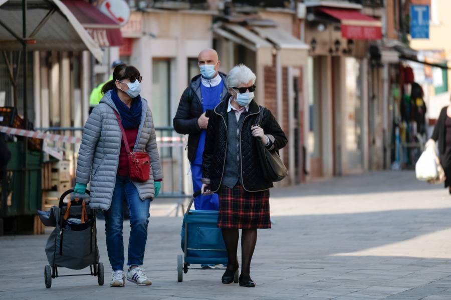 Italia reporta descenso en número de contagios, pero incrementan muertes por Covid-19