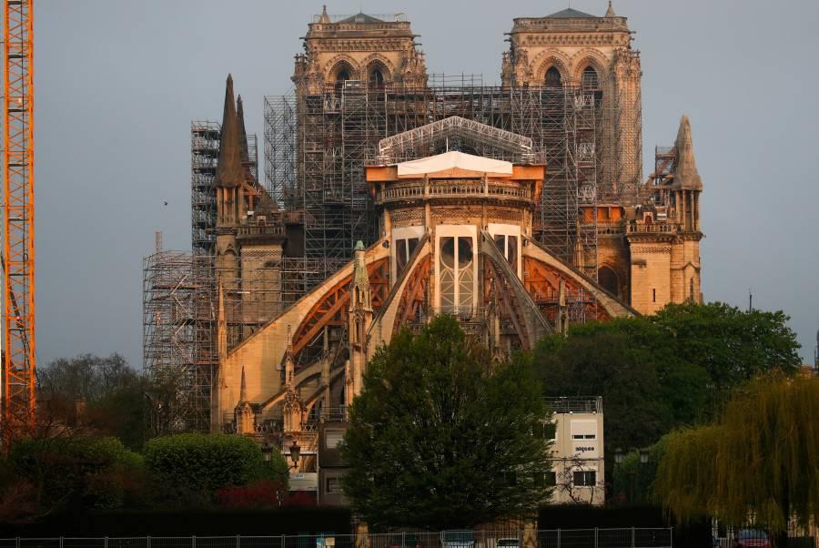 Notre Dame hará sonar campana en el primer aniversario del incendio