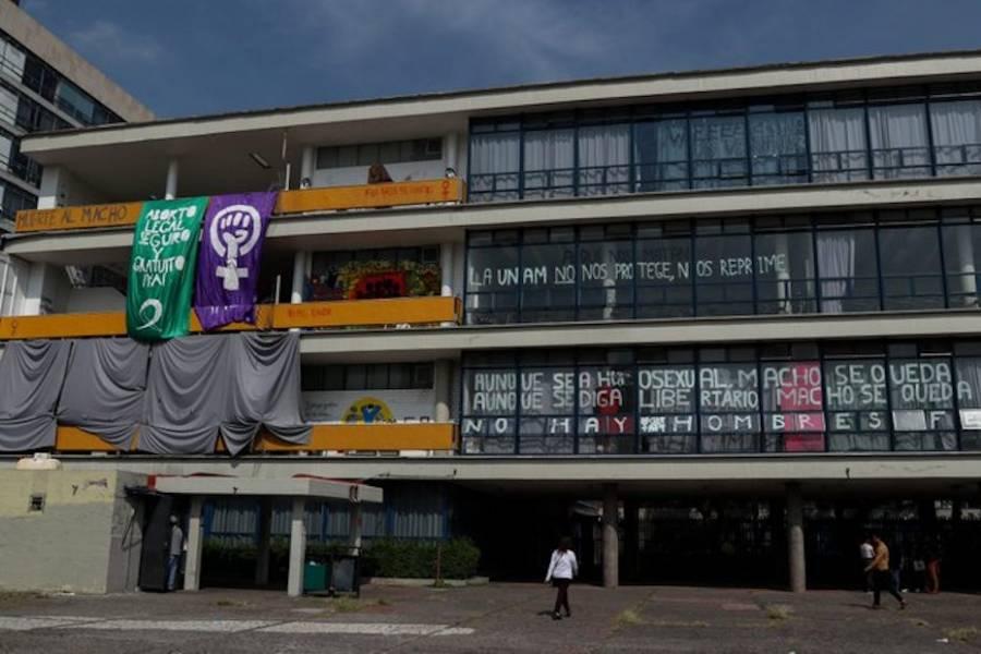 Retoma UNAM instalaciones de la Facultad de Filosofía y Letras
