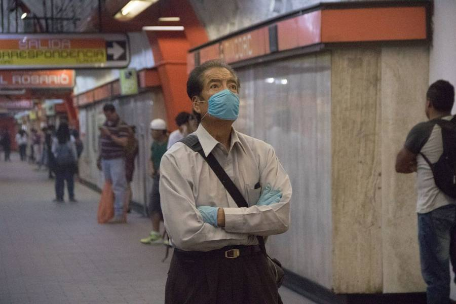 Cubrebocas será obligatorio en el Metro a partir del viernes