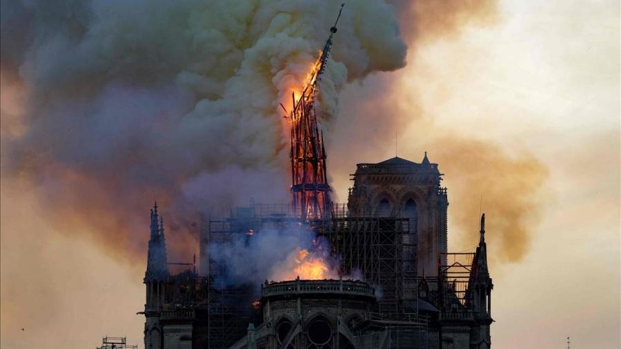 Pandemia paraliza reconstrucción de Notre Dame