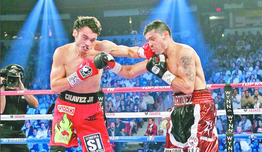 Con solo dos peleas en tres años, Chávez Jr. quiere volver al boxeo