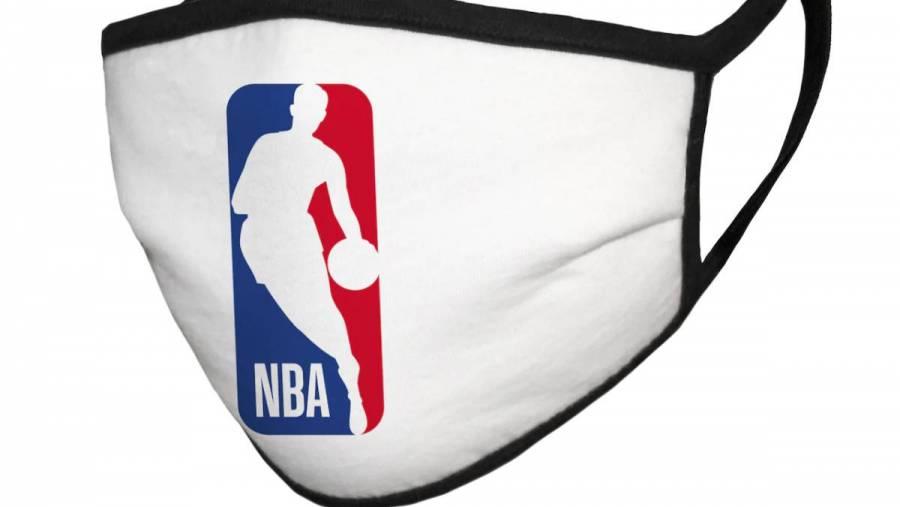 NBA venderá cubrebocas con logos para recaudar fondos por Covid-19