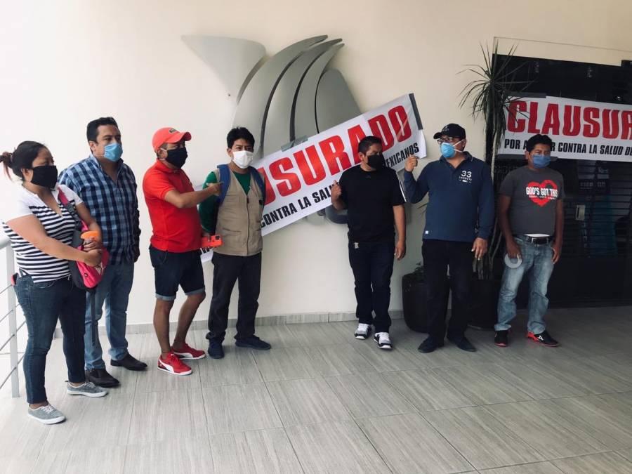 Clausuran instalaciones de TV Azteca en Oaxaca