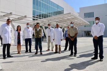 Director del IMSS y Gobernador de Nayarit presentan Hospital General en Bahía de Banderas