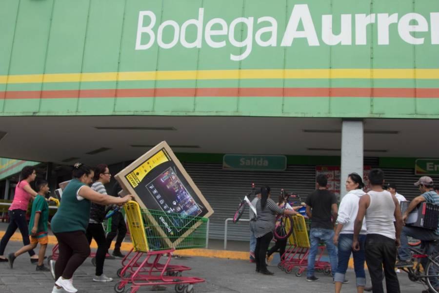 Capturan a presunto organizador de saqueos en Huixquilucan