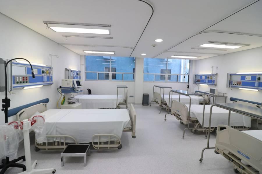 Se reporta ocupación del 34% en hospitales de la CDMX