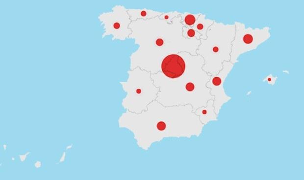 Suman 200 mil contagiados en España