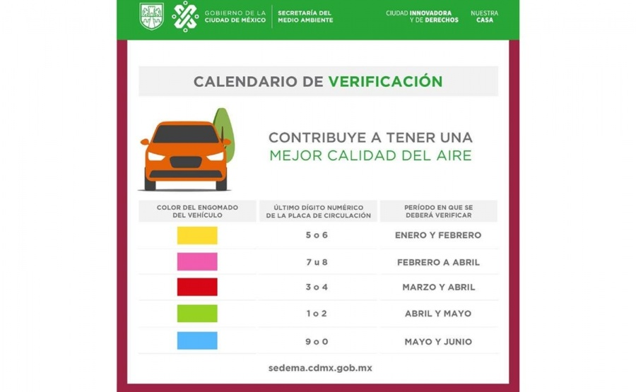 Por virus, suspenden verificación a autos
