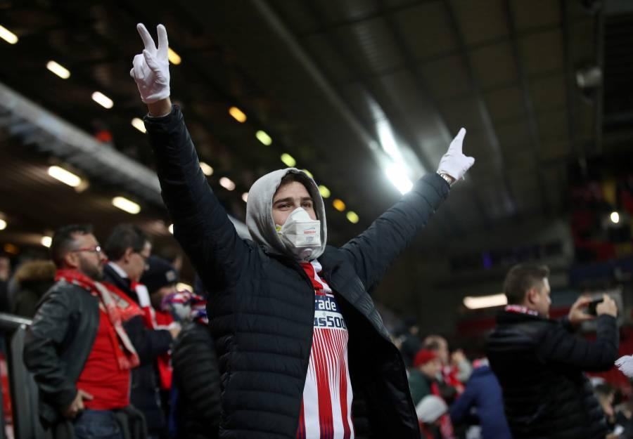 Creen que el Liverpool-Atlético de Madrid, ayudó en el brote de Covid-19