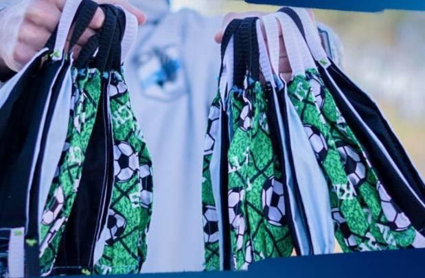 MLS vende cubrebocas con escudos de clubes para recaudar fondos