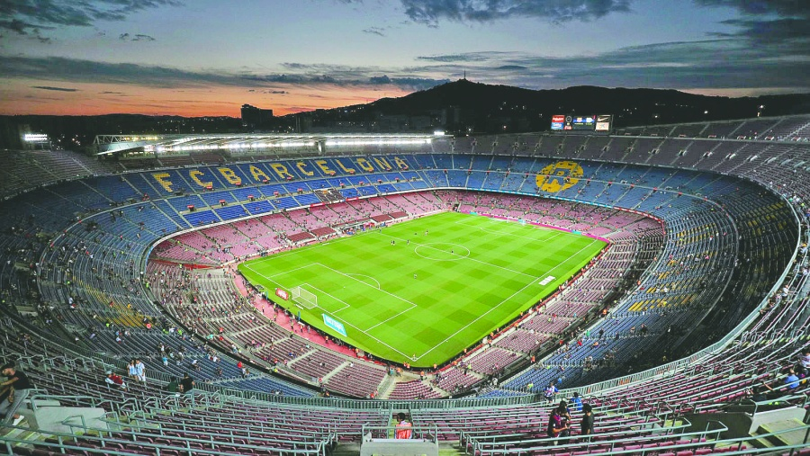 Por primera estadio del Barca cede derechos para apellido comercial