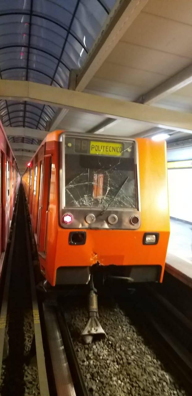 Se registra incidente en el Metro de la Línea 5