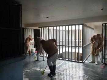 SANITIZACIÓN E HIGIENE CONSTANTES EN PENALES CAPITALINOS PARA EVITAR PANDEMIA