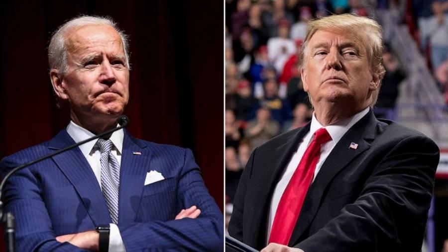Biden y Trump en cerrada contienda presidencial en estados clave